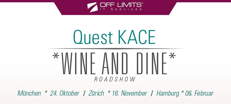 Quest KACE - Wine and Dine